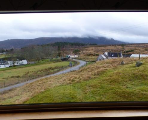 Altnaharra Accommodation Window View